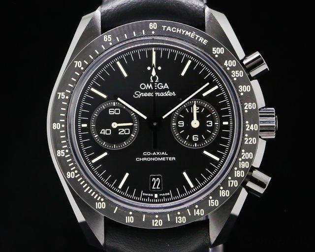 "Omega 311.92.44.51.01.004 Dark Side of the Moon ""Pitch Black"" Ceramic Black Dial"
