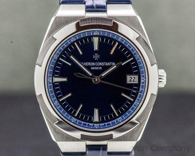 Vacheron Constantin 4500v/110A-B128 Overseas Automatic 41mm Blue Dial SS