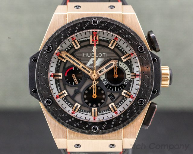 Hublot 703.OM.6912.HR.FMC12 Big Bang F1 King Power Great Britain LIMITED 18k Rose Gold