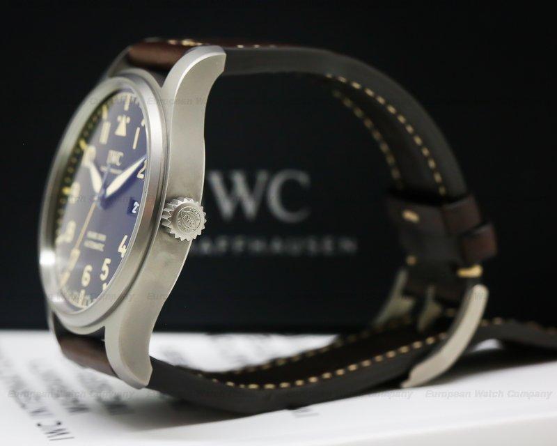IWC IW327006 Mark XVIII Heritage Black Dial Titanium