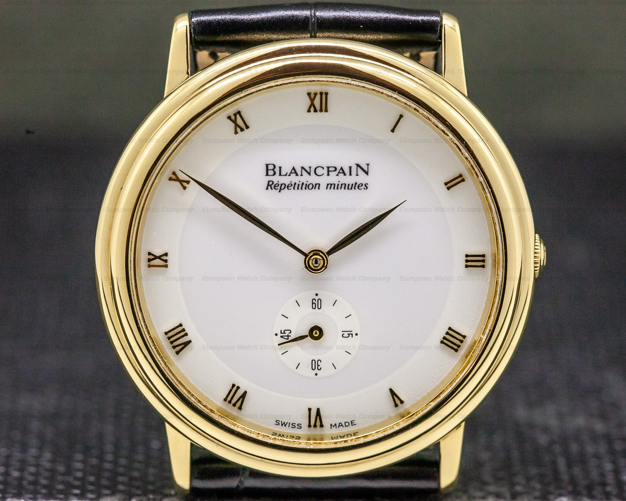 Blancpain 0033-1418-55 Repetition Minutes Yellow Gold 34MM