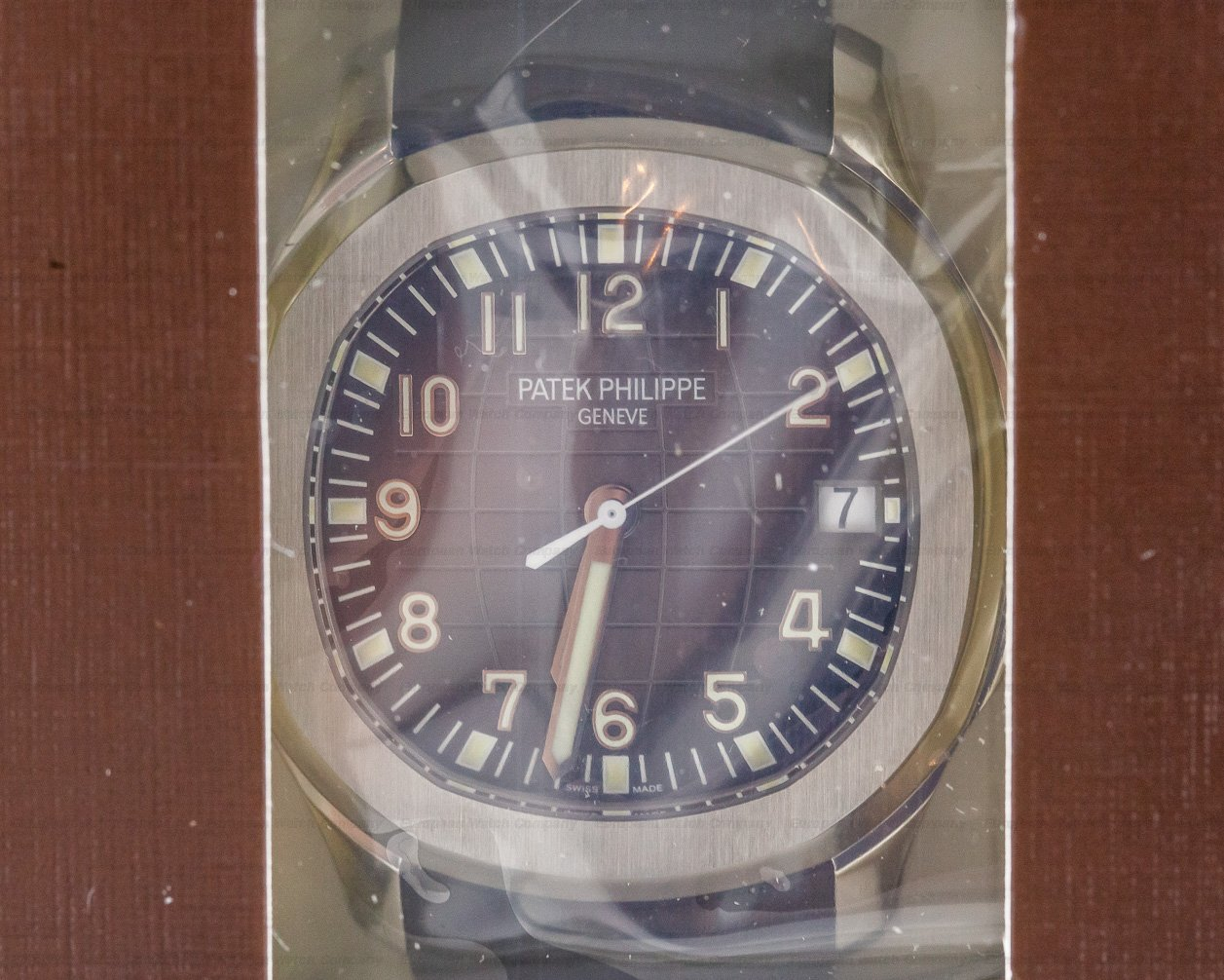Patek Philippe 5167A-001 Aquanaut SS / Rubber DOUBLE SEALED
