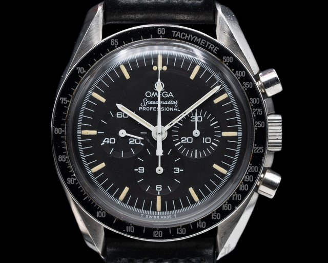 Omega 145.012 SP Vintage Speedmaster Pre Moon SS BOX & PAPERS