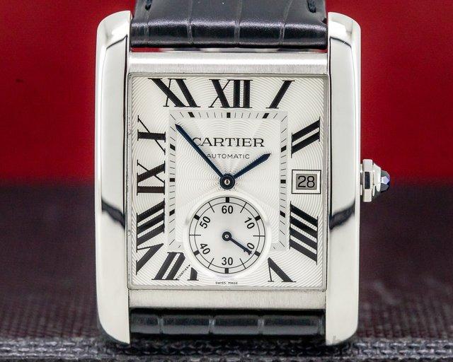 Cartier W5330003 Tank MC Silver Dial SS Automatic
