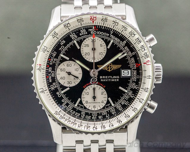 "Breitling A13330 Navitimer ""Breitling Fighters"" Automatic Chronograph SS"