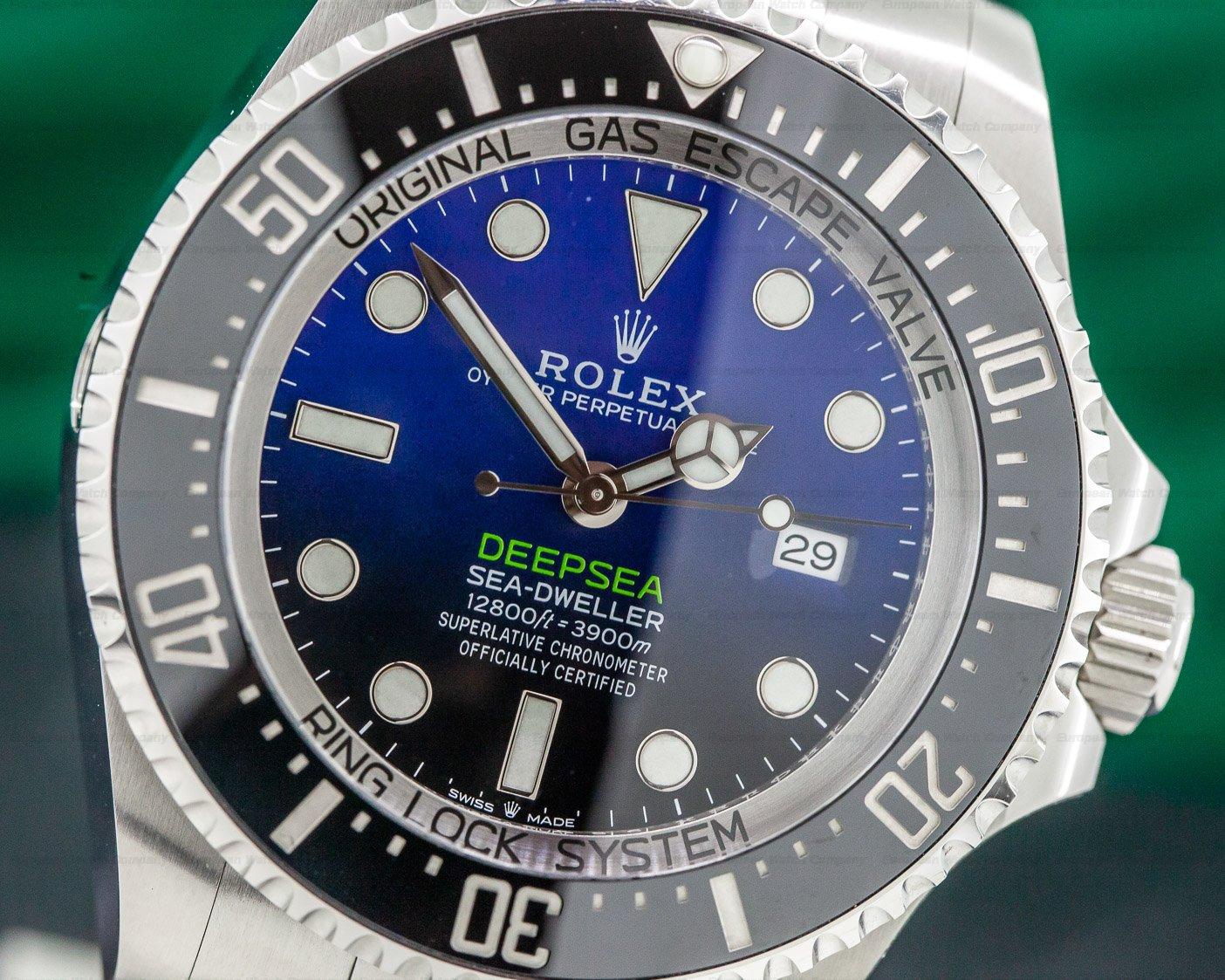 Rolex 126660 Sea Dweller Deep Sea D-Blue 2018 Model