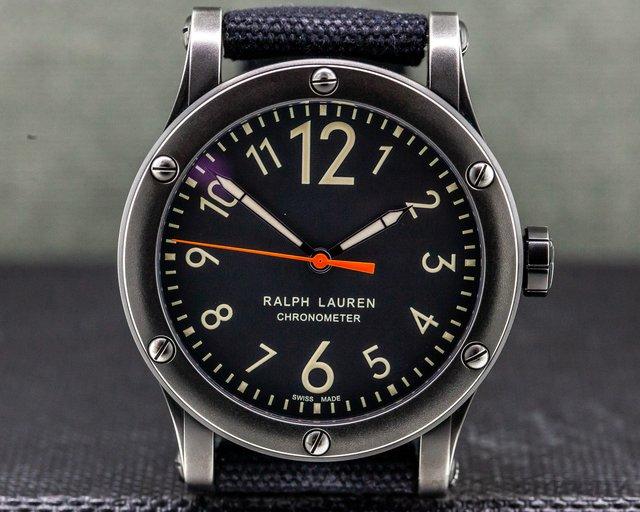 "Ralph Lauren R0220900 Sporting RL67 Chronometer 45mm Steel ""Safari Collection"""