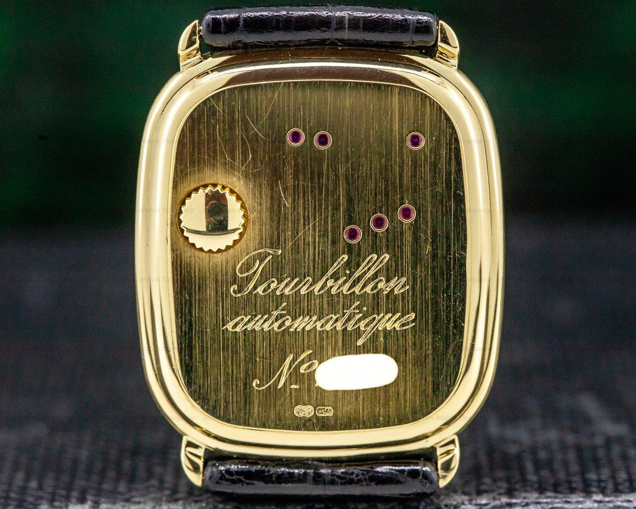 Audemars Piguet 25643BA/O/0003/01 Automatic Tourbillon Cushion Case 18K RARE & IMPORTANT