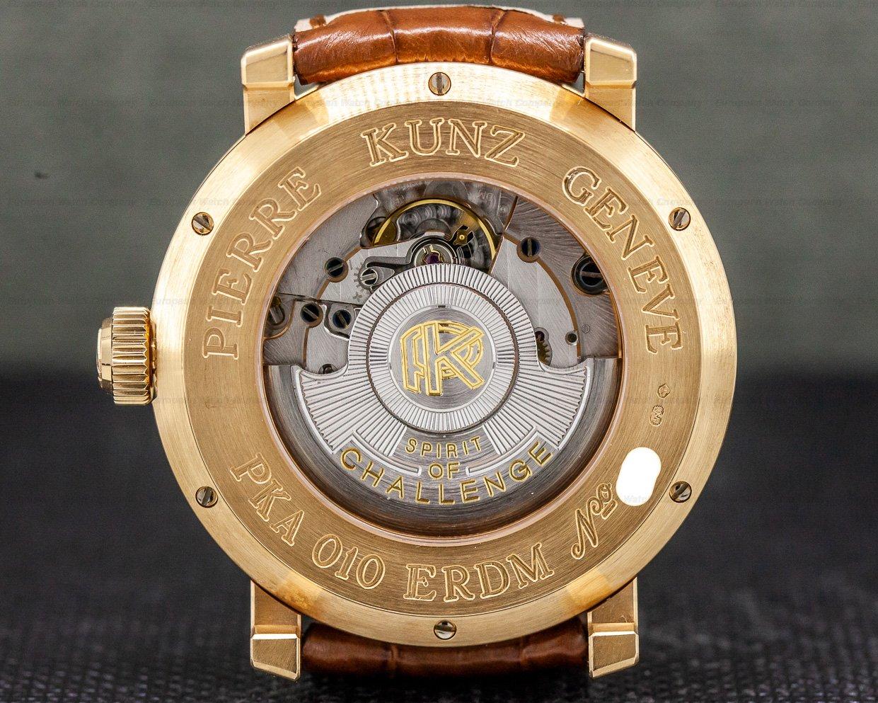 Pierre Kunz PKA 010 ERDM Spirit of Challenge Rose Gold Equation Du Temps