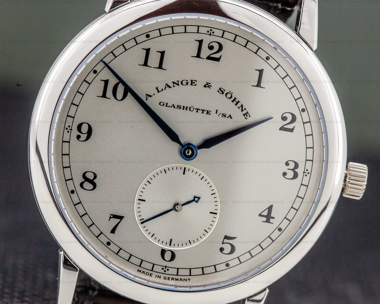 A. Lange and Sohne 206.025 1815 Platinum Silver Dial