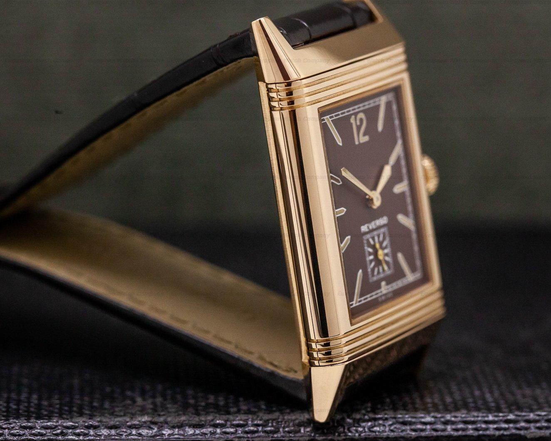 "Jaeger LeCoultre 2782560 Grande Reverso Ultra Thin ""Tribute 1931"" Chocolate 18K Rose Gold"