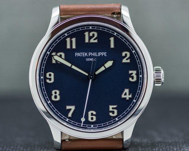 "Patek Philippe 5522A-001 Pilot Calatrava Steel ""New York"" Limited Edition"