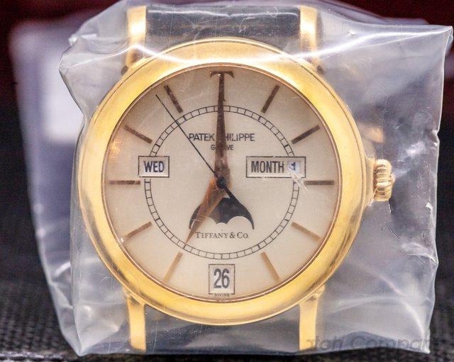 "Patek Philippe 5150R-T150 Annual Calendar ""Tiffany"" Limited Edition 18K Rose Gold STILL SEALED"