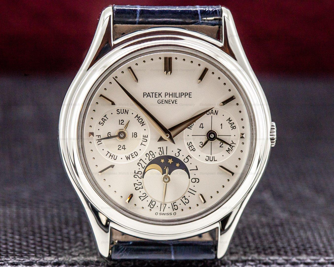 Patek Philippe 3940P-011 Perpetual Calendar Platinum FULL SET