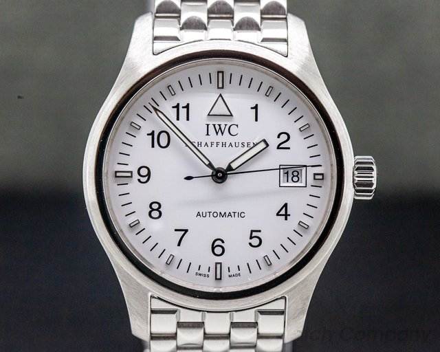 IWC 3253-06 Mark XV White Dial SS / Bracelet LIMITED TO 50 PIECES