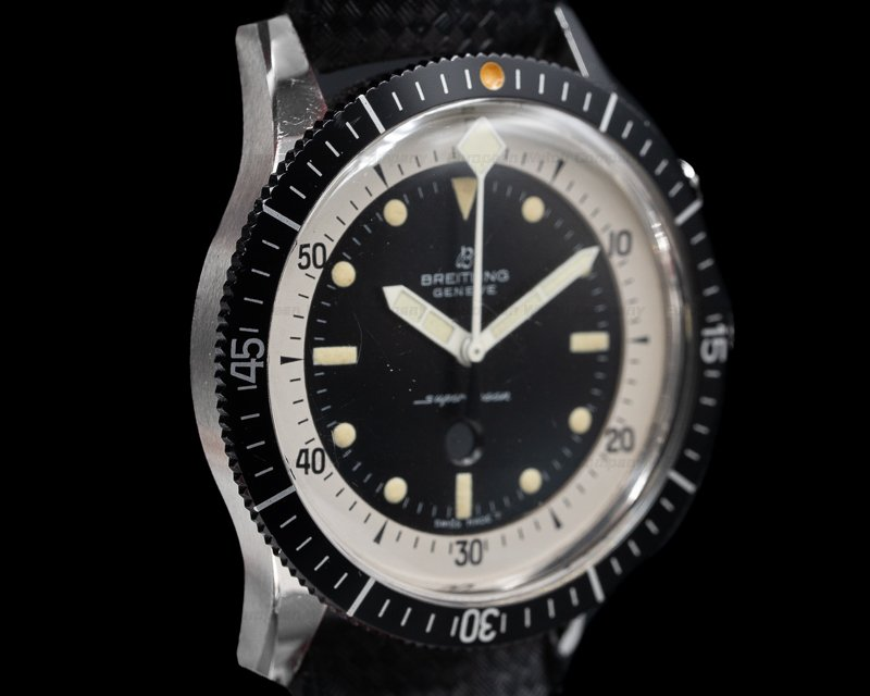 "Breitling 2005 Vintage Breitling SuperOcean ""Slow Counter"" NEW OLD STOCK"