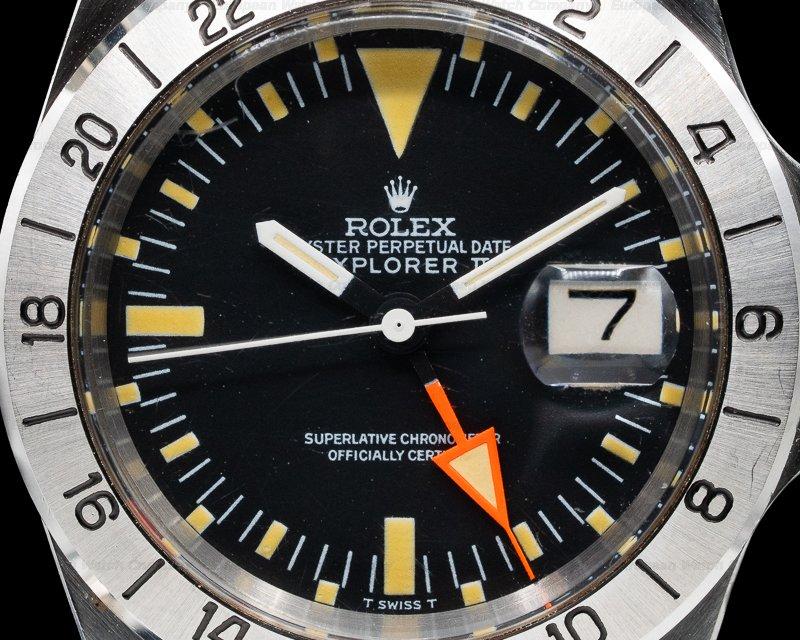 Rolex 1655 Explorer II Steve McQueen Freccione UNPOLISHED FULL SET