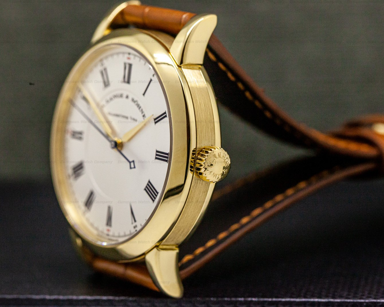 A. Lange and Sohne 232.021 Richard Lange 18K Yellow Gold