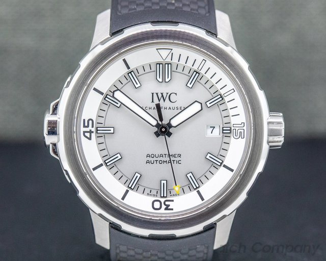 IWC IW329003 Aquatimer Automatic Silver Dial SS / Rubber