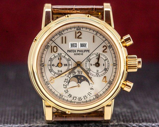 Patek Philippe 5004R-014 Perpetual Calendar Split Second Chronograph 5004 18K Rose Gold