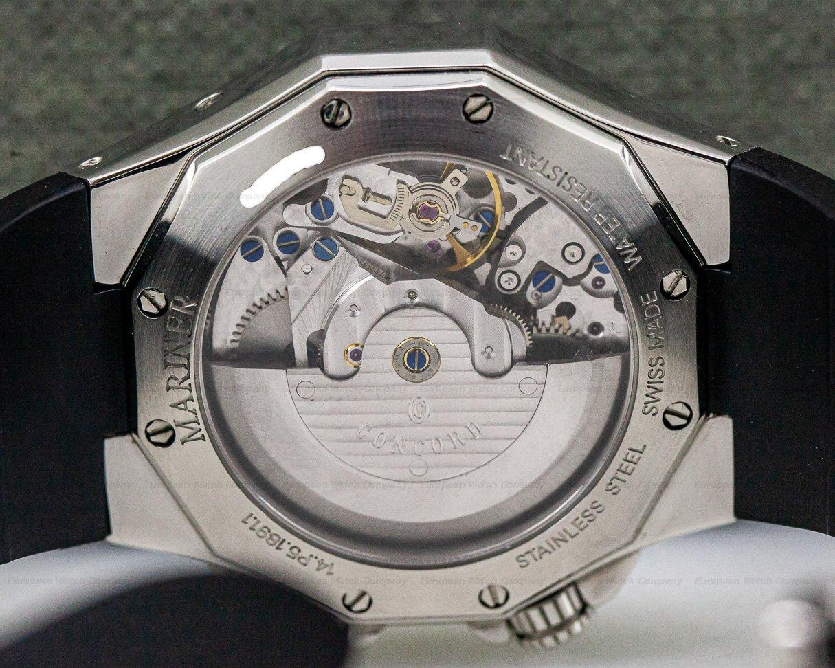 Concord 0311581 Mariner Reveil Alarm SS