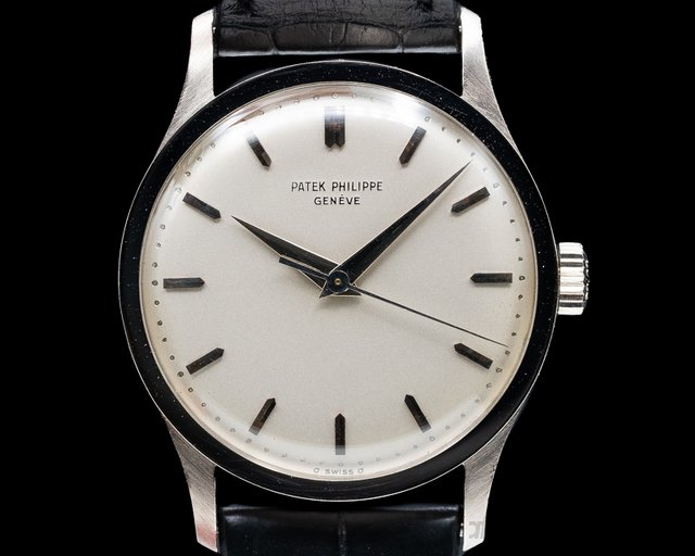 Patek Philippe 570 G Calatrava Manual Wind 18K White Gold SHARP