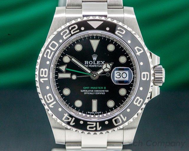 Rolex 116710LN GMT Master II Ceramic SS UNWORN
