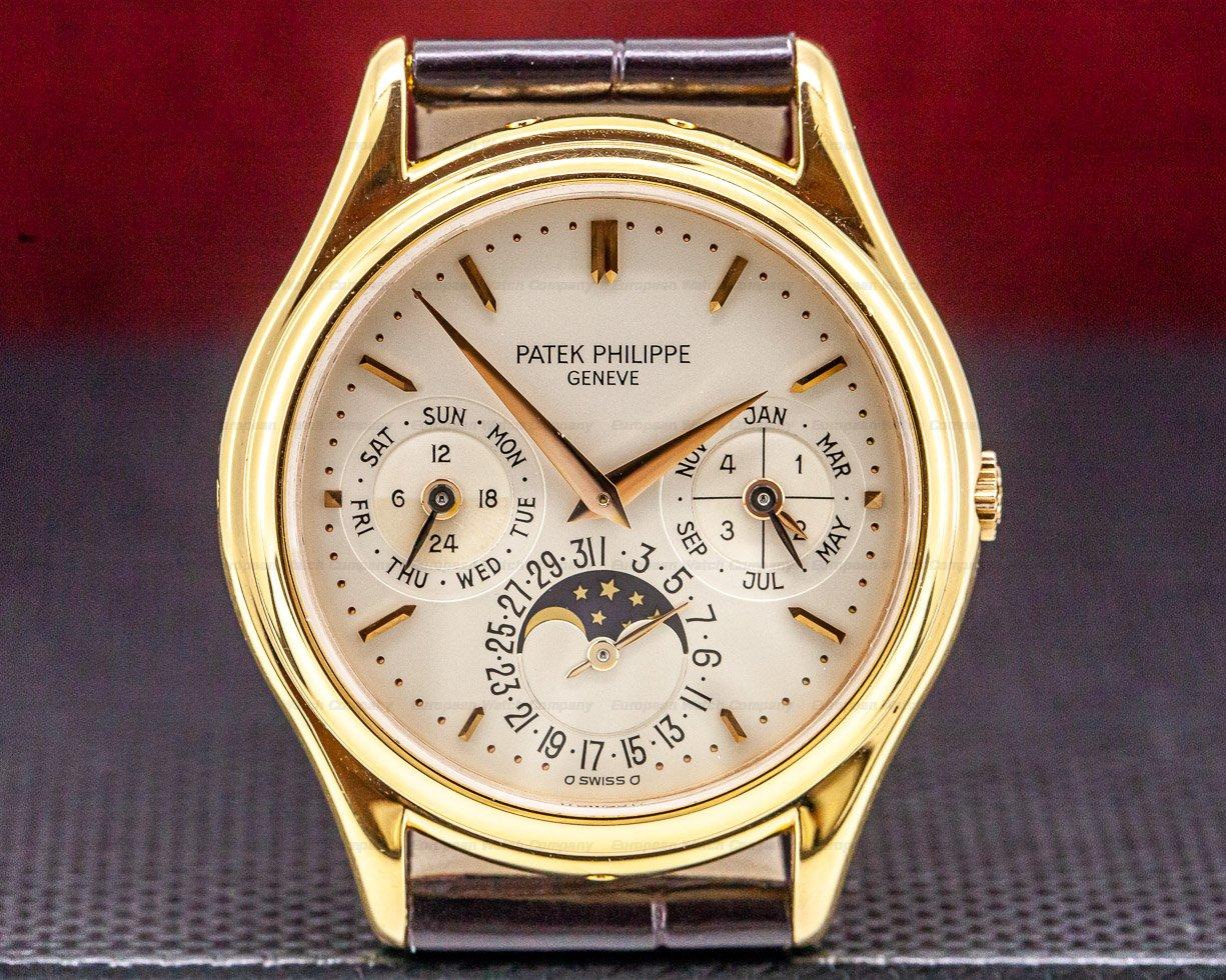 Patek Philippe 3940R Perpetual Calendar Rose Gold / Deployant FULL SET