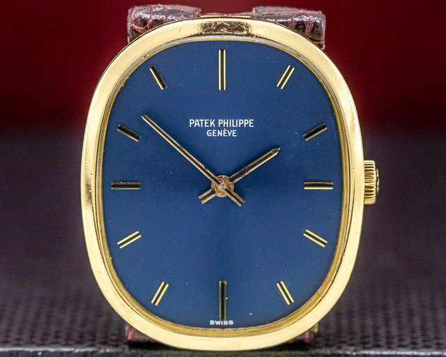 Patek Philippe 3548 Ellipse 18K Yellow Gold Manual Wind