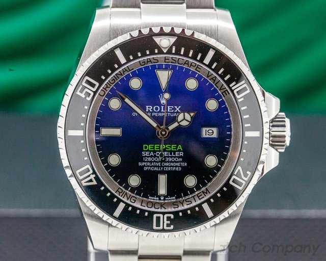 Rolex 126660 Sea Dweller Deep Sea D-Blue 2018 Model UNWORN + STICKERS
