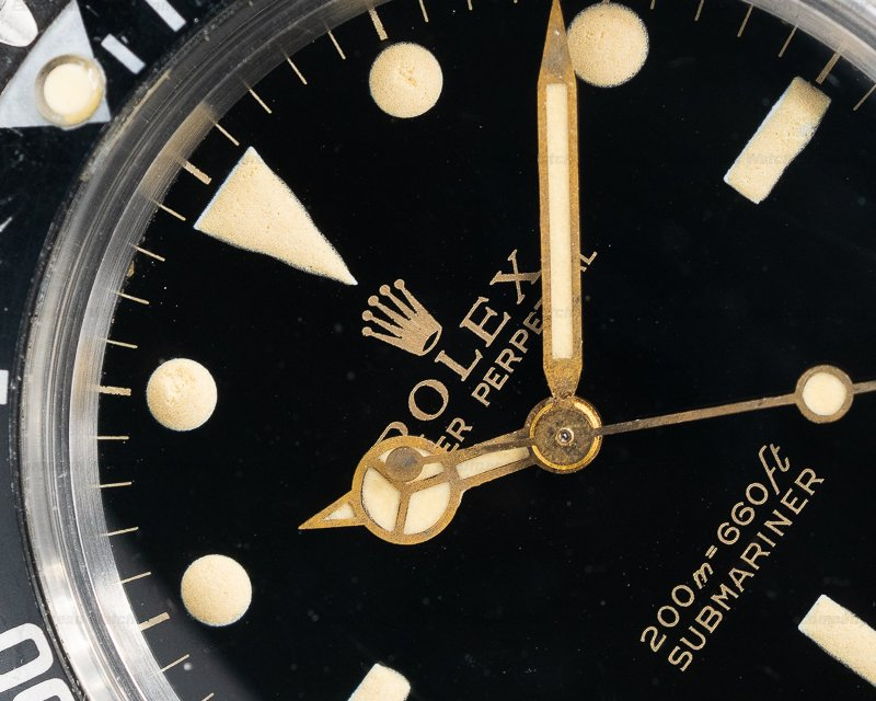 Rolex 5513 Gilt Gilt 5513 Submariner AMAZING DIAL Circa 1966