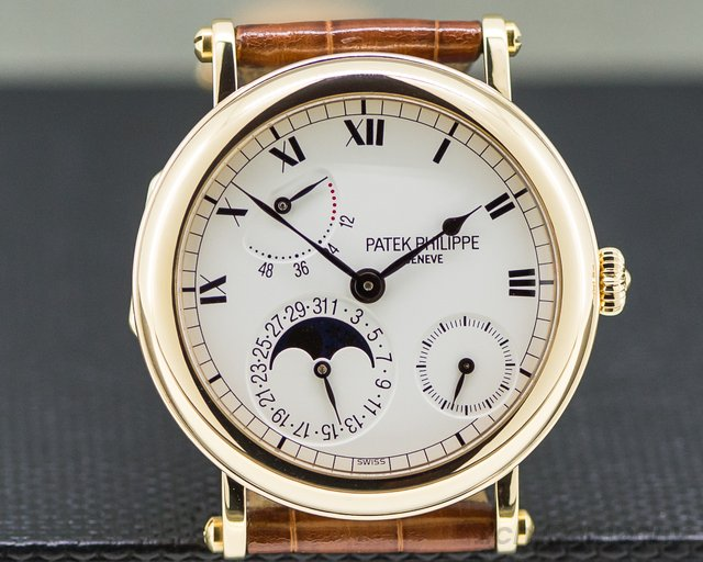 Patek Philippe 5054J-001 Power Reserve Moonphase 18K Yellow Gold