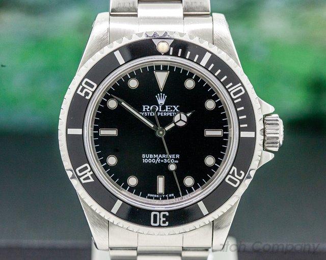 Rolex 14060 Submariner No Date SS FULL SET