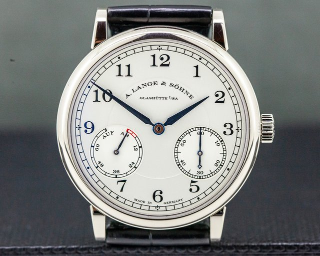A. Lange and Sohne 234.026 1815 Up & Down 18K White Gold