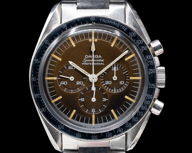 Omega 145.012-67 SP Tropical Vintage Speedmaster Pre Moon 1967 INSANE TROPICAL MEXICO