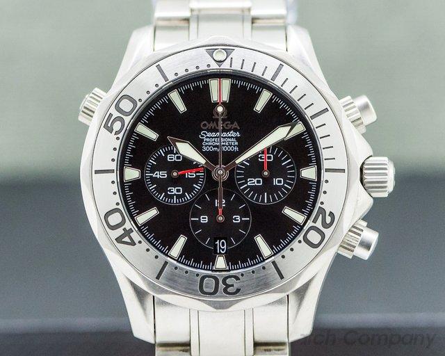 Omega 2293.52 Seamaster Chronograph Titanium