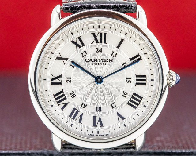 "Cartier Ronde Louis Privee Plati Ronde Louis ""Privee Collection"" Manual Wind Platinum"