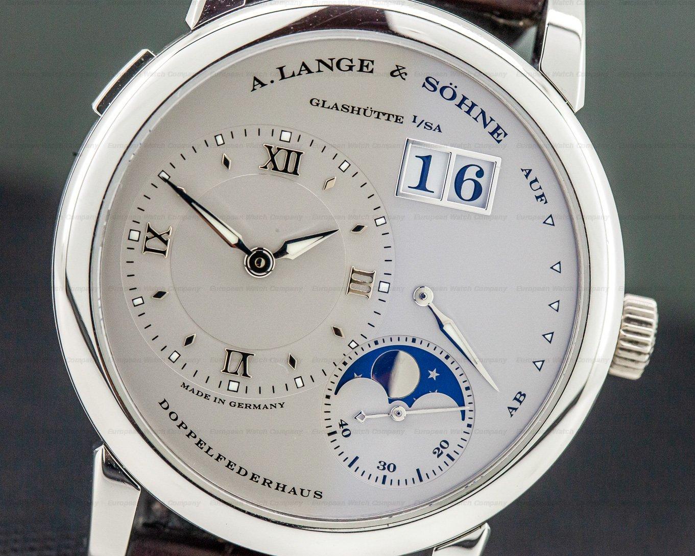 A. Lange and Sohne 109.025 Lange 1 Moon Platinum