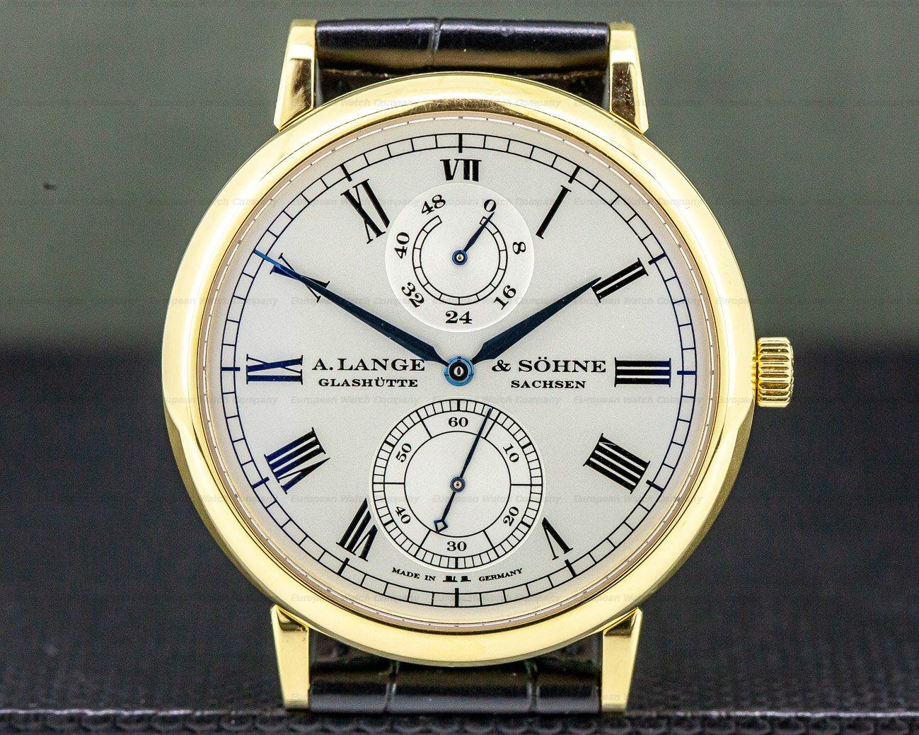 A. Lange and Sohne 304.048 Grosse Langematik Gangreserve Limited WEMPE 18k Yellow