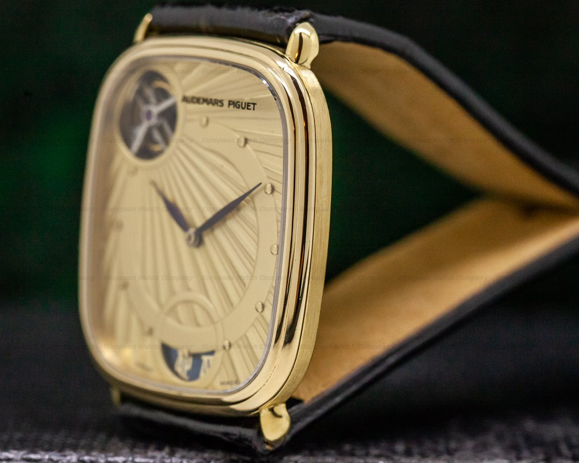 Audemars Piguet 25643BA/O/0003/01 Automatic Tourbillon Cushion Case 18K RARE & IMPORTANT