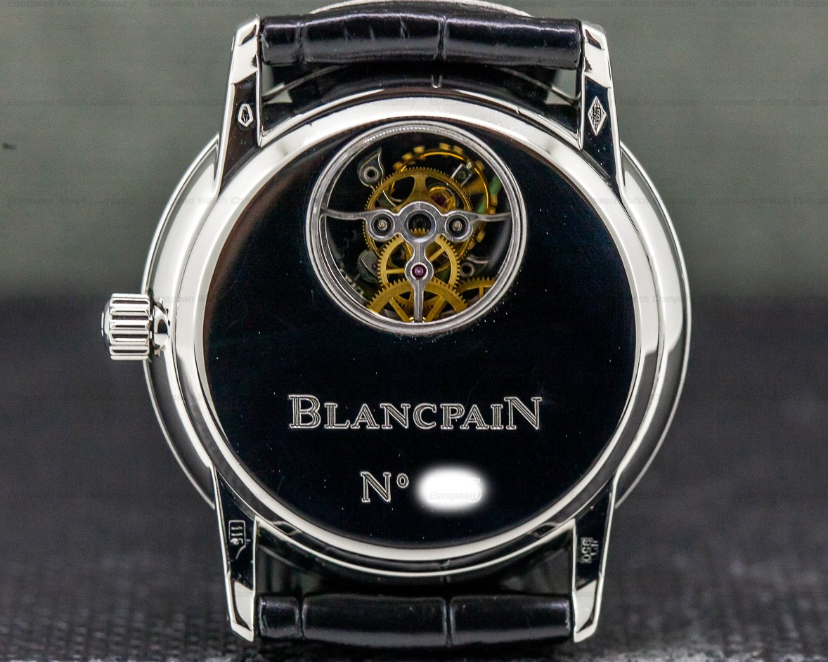 Blancpain 0023 Tourbillon Patinum Manual Wind PROTOTYPE DIAL