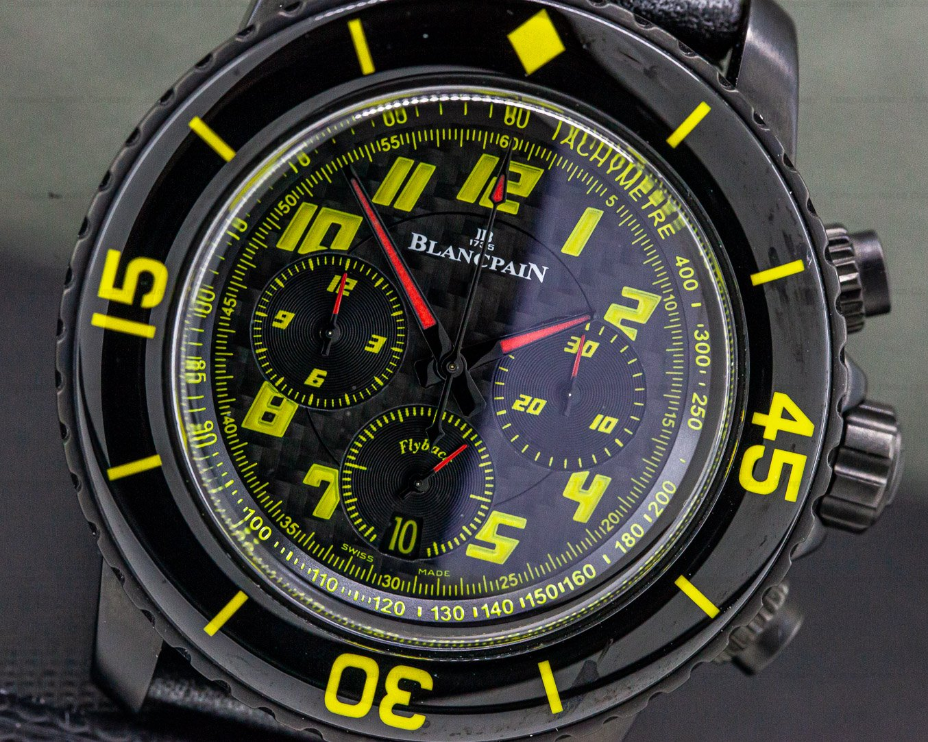 Blancpain 5785FA-11D03-63 Fifty Fathoms Speed Command Chronograph