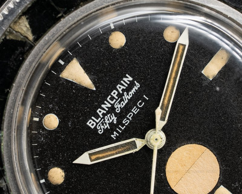 "Blancpain Milspec 1 AM Fifty Fathoms ""AM"" Milspec 1 RARE"