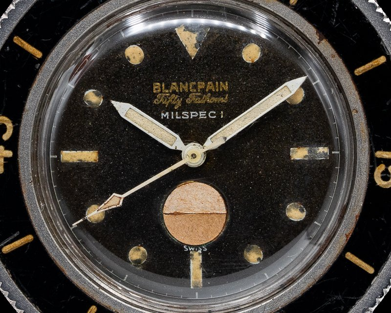 Blancpain Milspec 1 Fifty Fathoms Milspec 1 w/ US Navy Dive Logs Circa 1960