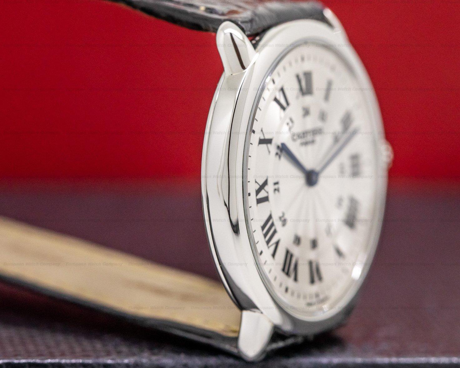 "Cartier Ronde Louis Privee Ronde Louis ""Privee Collection"" Manual Wind Platinum"