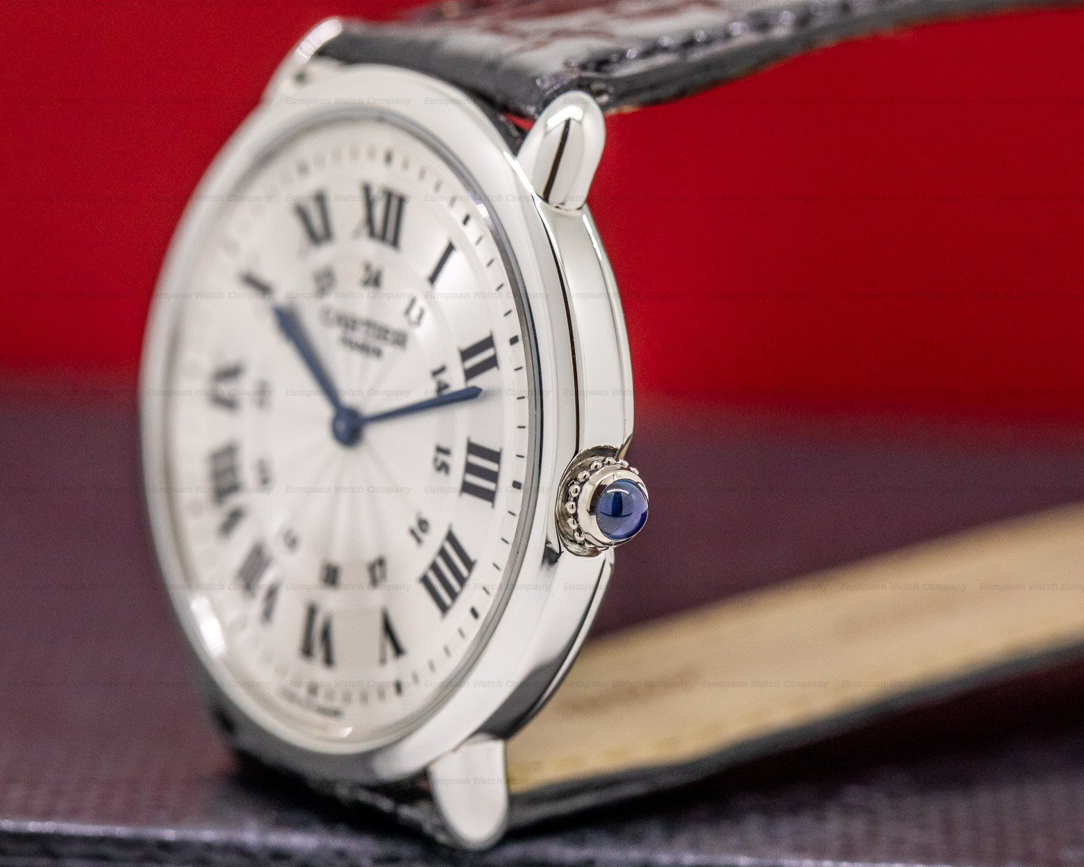 "Cartier Ronde Louis Privee Plati Ronde Louis ""Privee Collection"" Manual Wind Platinum"