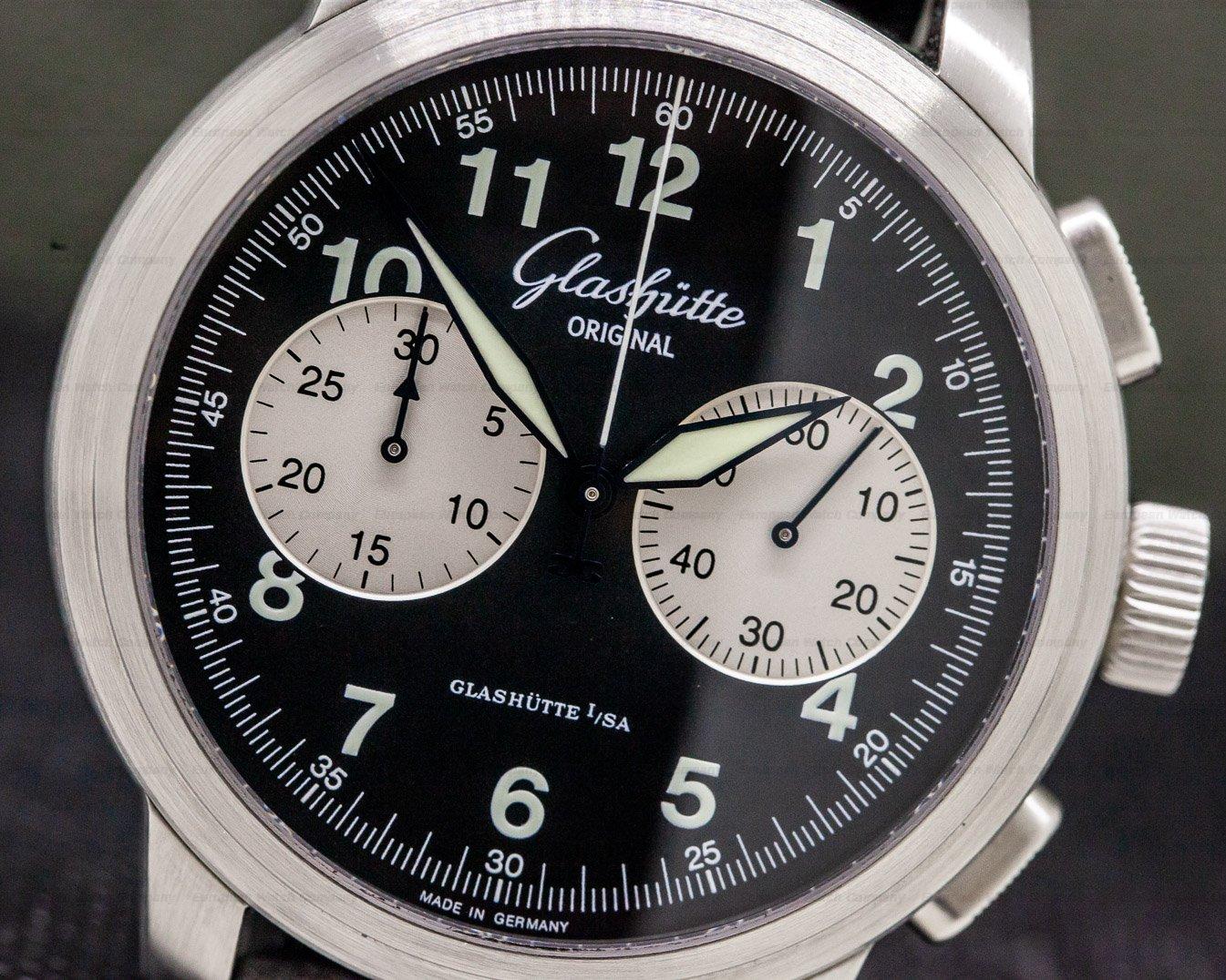 Glashutte Original 39-34-07-07-04 Senator Navigator Chronograph SS