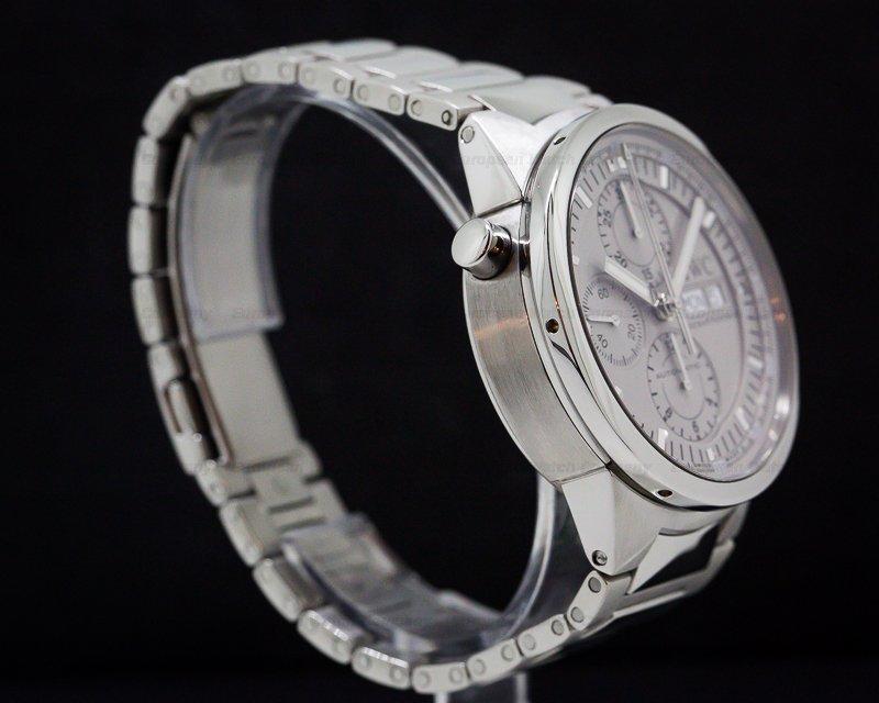 IWC 371508 GST Split Second Chronograph Silver Dial