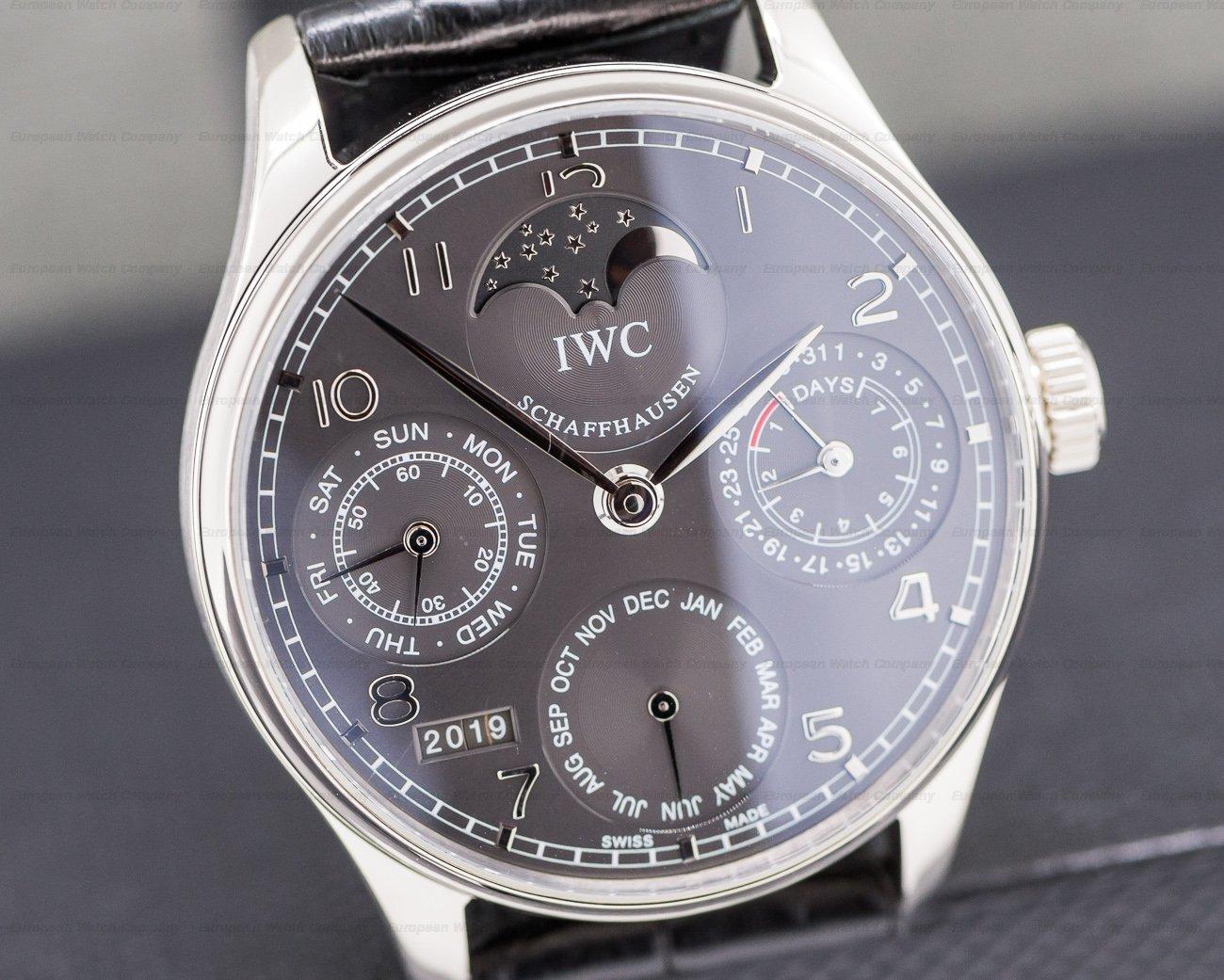 IWC IW502218 Portuguese Perpetual Calendar II 18K White Gold