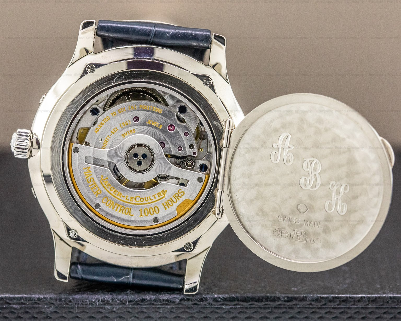 Jaeger LeCoultre 140.3.87 Master Control Triple Calendar 18k White Gold